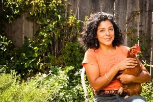 Esperanza Pallana, Interim ANV Board President Photo From: http://www.bayareagreentours.org/wordpress/wordpress/urban-farm_tour/